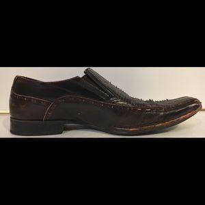 Giorgio Brutini Shoes - GIORGIO BRUTINI Men's Sz 10 Leather Cross Shoes